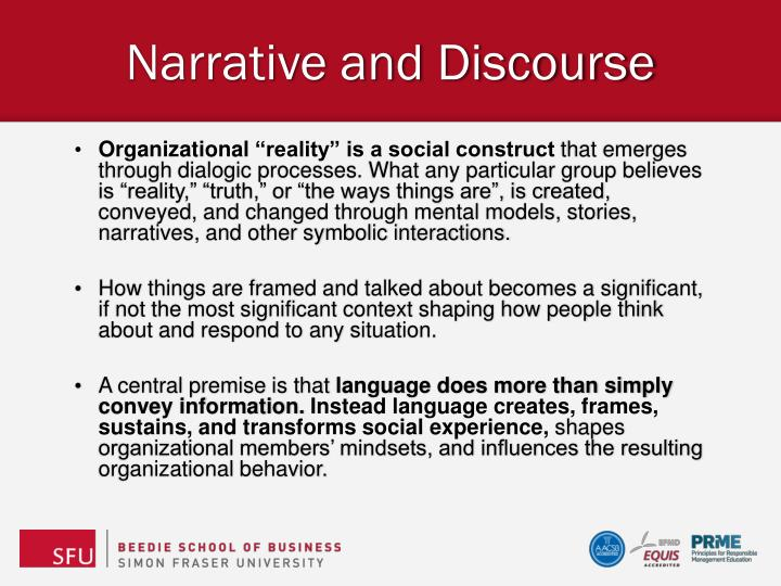 dialogic discourse