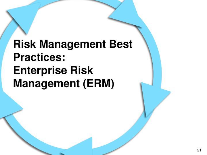Risk Management Best Practices: