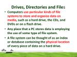 drives directories and file s2