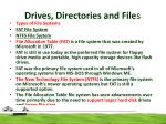 drives directories and file s4