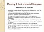 planning environmental resources11