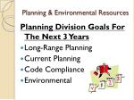 planning environmental resources7