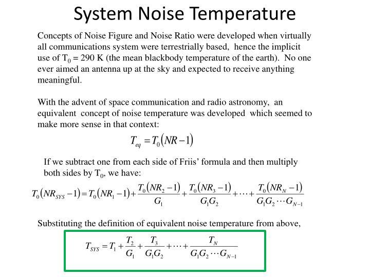 System Noise Temperature