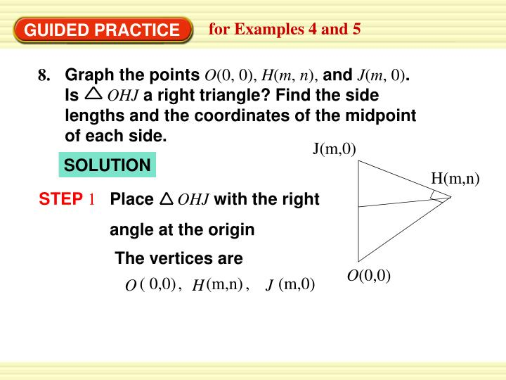 Graph the points