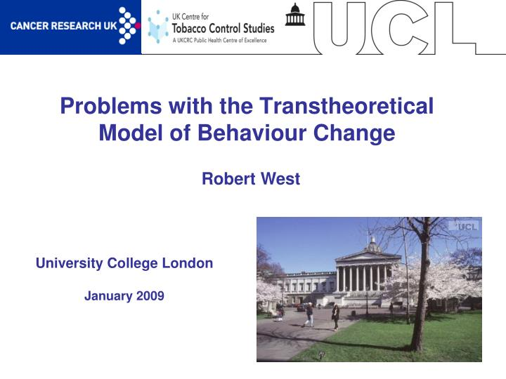 the commitment to the health and the trans theoretical model of behavior changes according to profes The 5 stages of change model is a very useful framework that describes the series of stages we go through to change our lifestyle habits the critical assumption that underpins this model is that behavioral changes do not happen in one step, but through a series of distinct, predicable stages.