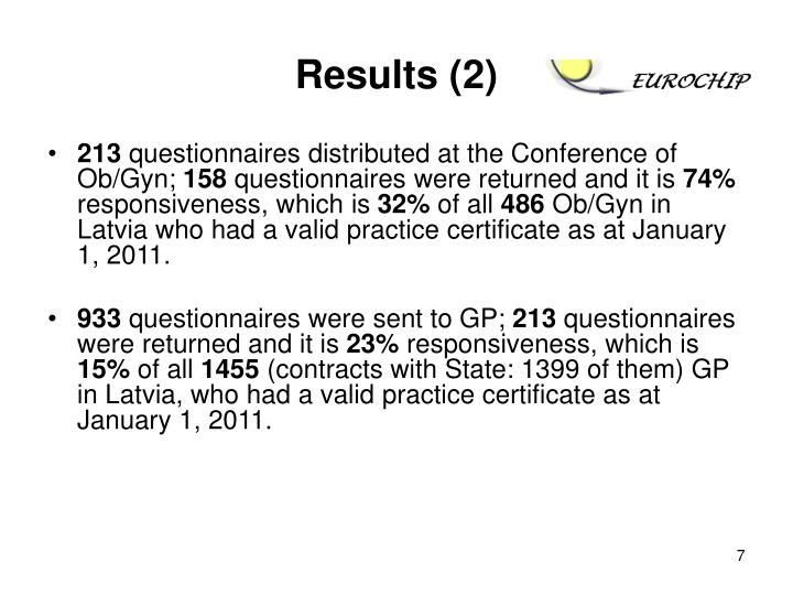 Results (