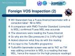 foreign vos inspection 2