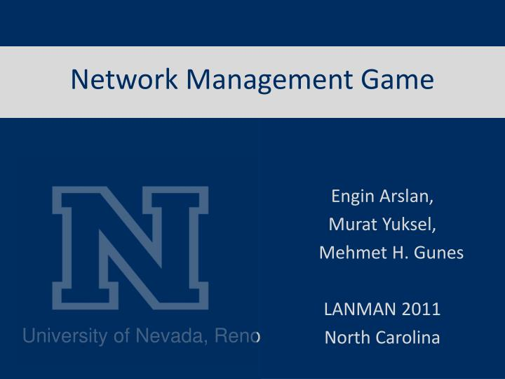 network management game n.