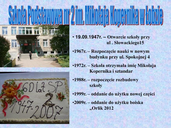 Szkoła Podstawowa nr 2 im. Mikołaja Kopernika w Łobzie
