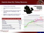 camrick area co 2 tertiary recovery