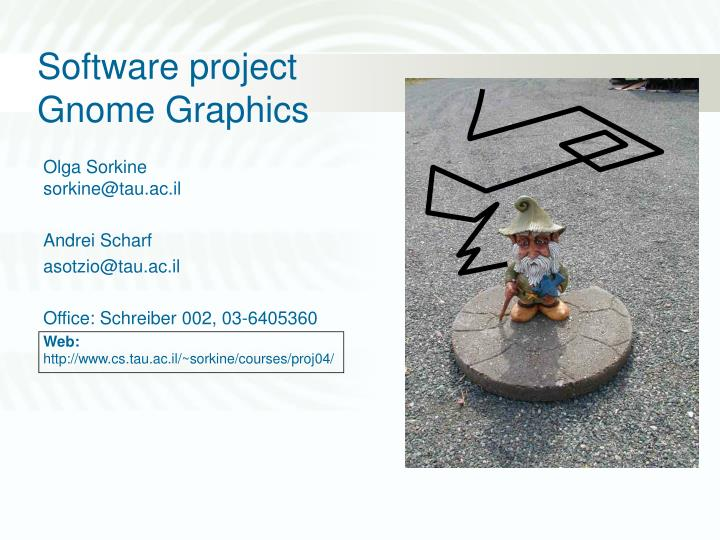 software project gnome graphics n.