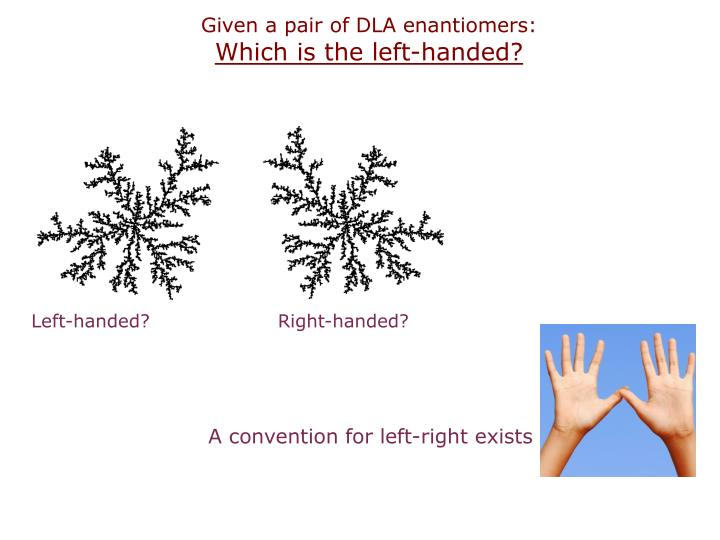 Given a pair of DLA enantiomers: