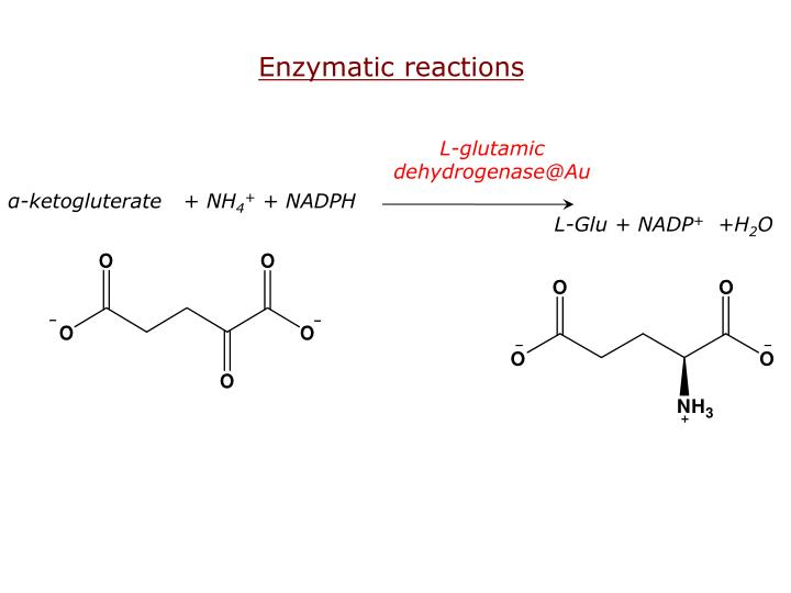 Enzymatic reactions