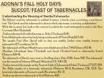 adonai s fall holy days succot feast of tabernacles11
