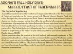 adonai s fall holy days succot feast of tabernacles12