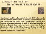 adonai s fall holy days succot feast of tabernacles5