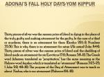 adonai s fall holy days yom kippur27