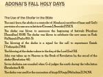 adonai s fall holy days13