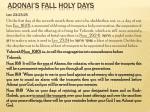 adonai s fall holy days16
