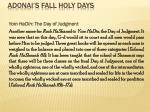 adonai s fall holy days19