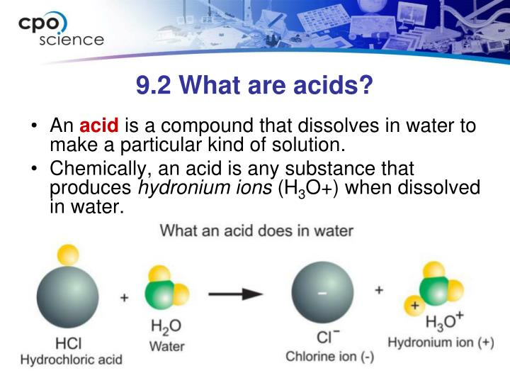 9 2 what are acids n.