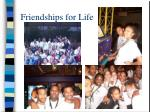 friendships for life