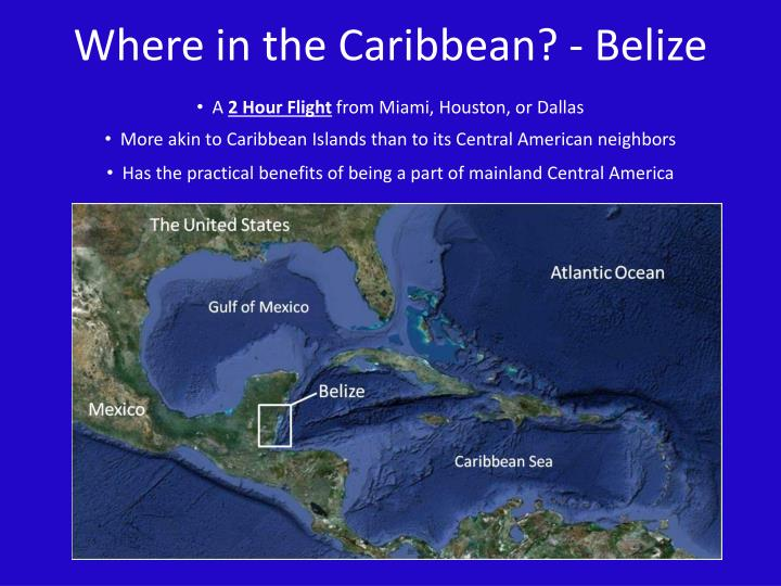 Where in the Caribbean? - Belize