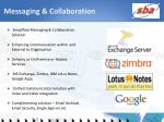 messaging collaboration