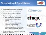 virtualization consolidation