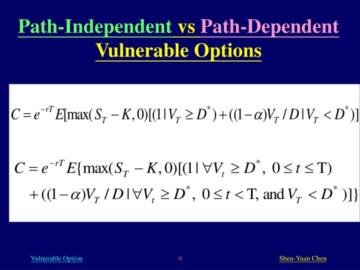 Path-Independent