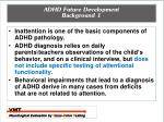adhd future development background 1