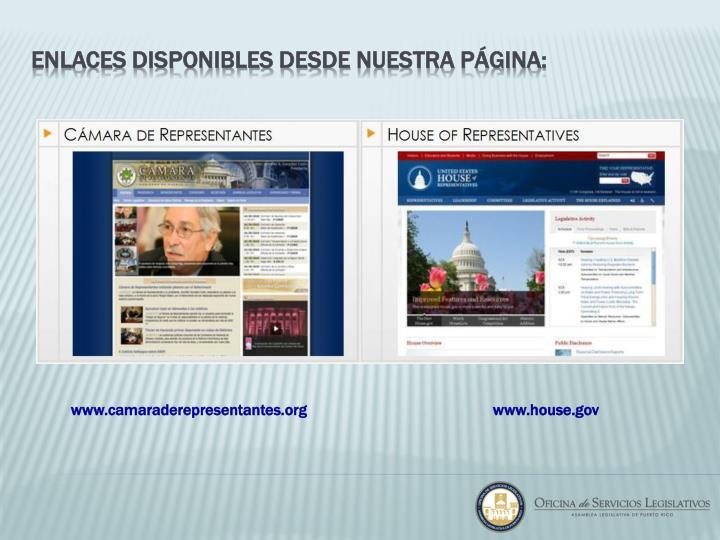 www.camaraderepresentantes.org