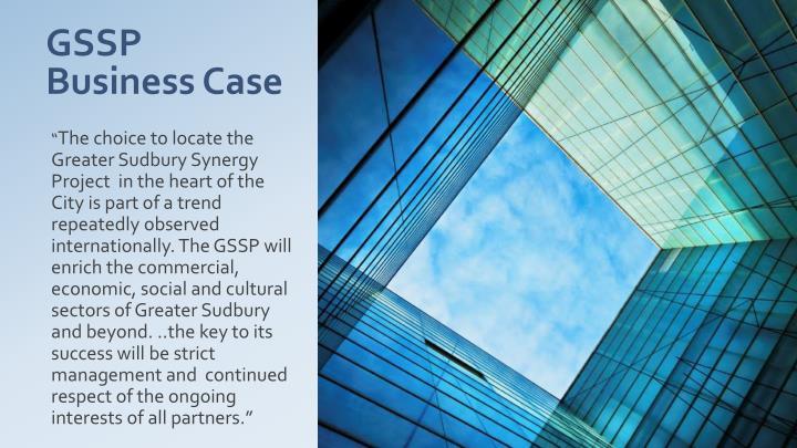 GSSP Business Case