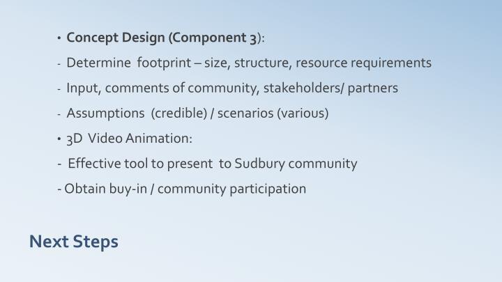 Concept Design (Component 3