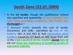south zone 22 01 20093