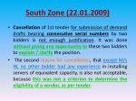 south zone 22 01 20094