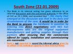south zone 22 01 20097