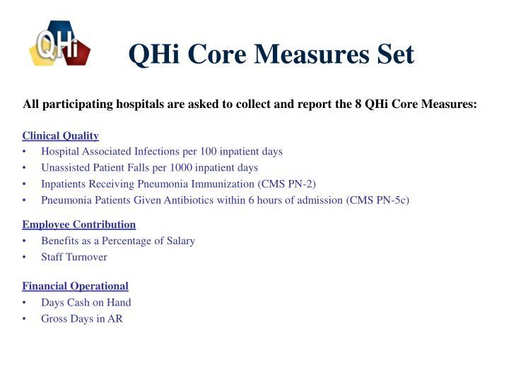 QHi Core Measures Set