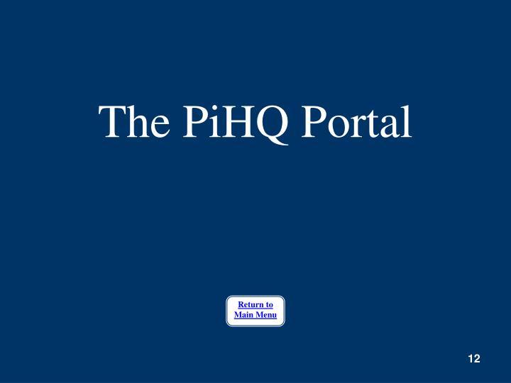 The PiHQ Portal