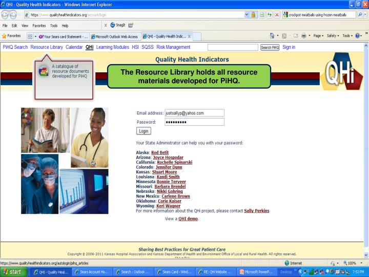 The Resource Library holds all resource materials developed for PiHQ.