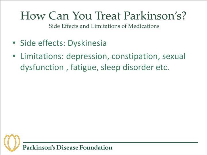 Sinemet Side Effects Dyskinesia