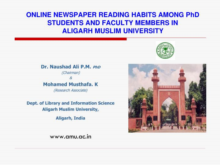 reading habits of newspapers among people Questionnaire on reading habits among colleges of education students in the information age (rhcesia) was designed to elicit information from the students research design.