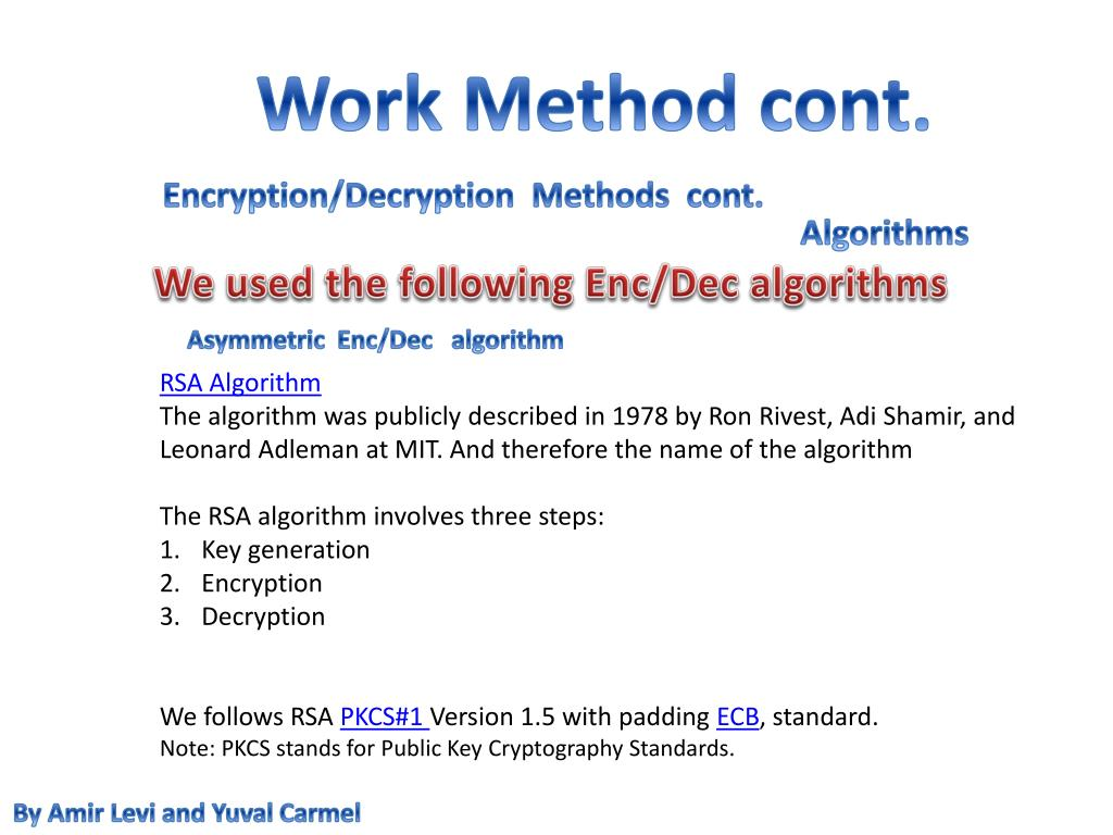 PPT - Encryption PowerPoint Presentation - ID:4828725
