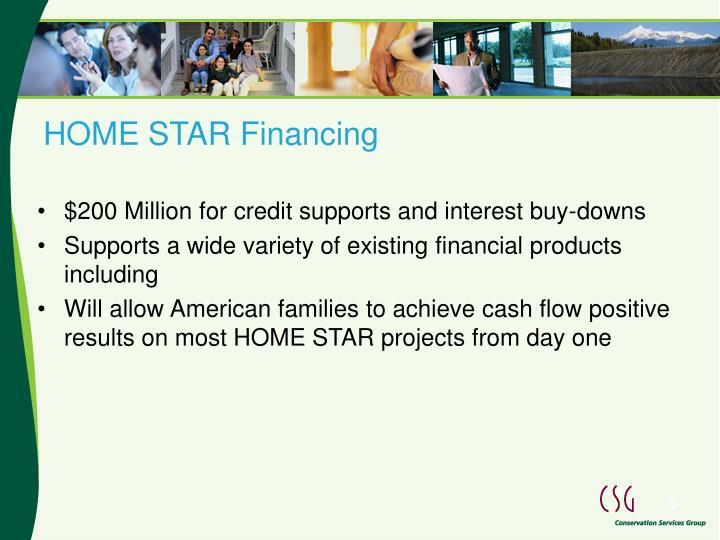 HOME STAR Financing