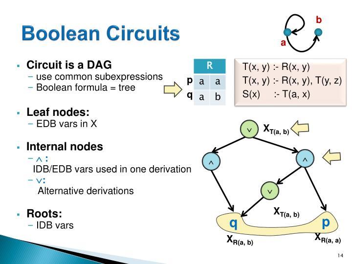 Boolean Circuits