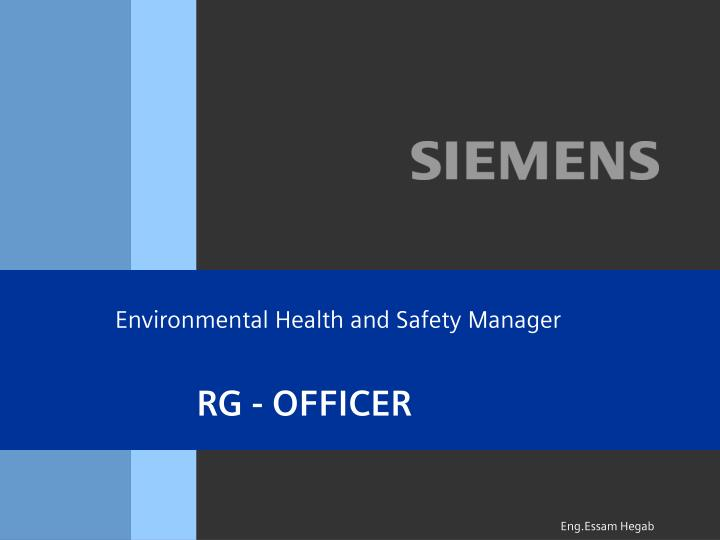 environmental health and safety manager n.