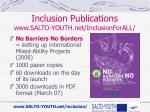 inclusion publications www salto youth net inclusionforall3