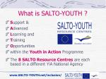 what is salto youth