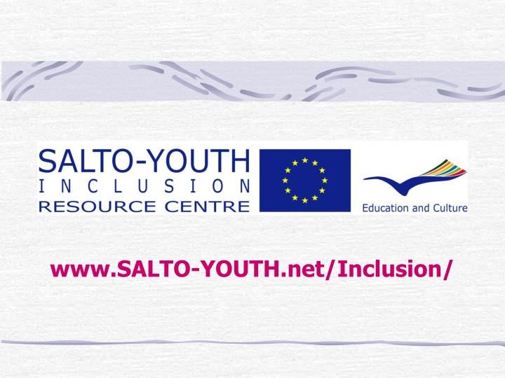 www salto youth net inclusion n.