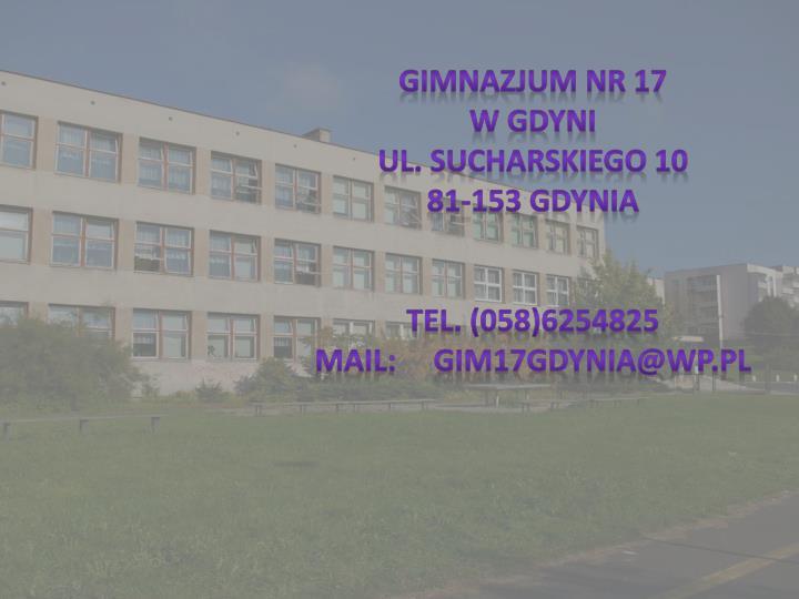 Gimnazjum nr 17